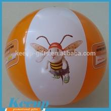 Branding Promotional Lovely Little Bee Inflatable Human Beach Ball