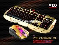 Backlit, Gaming Keyboard;Backlit Gaming Mouse, For Laptop And Desktop Computer, OEM Any Language Layout