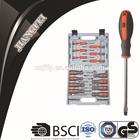 D9922-3 32 PCS hand tools screw drivers promotional mini screwdriver kit