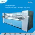 Alta qualidade e bom preço lavanderia usado vapor automático máquina de engomar