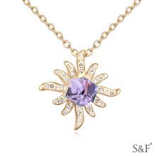 Showfay Brand christmas crystal decoration necklace