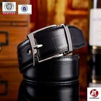 30-40 mm man stainless steel buckle genuine leather belt