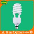 ahorro de energía espiral lámpara t4 de luz fluorescente