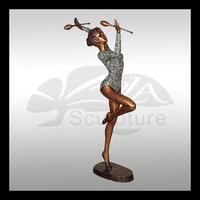 erotic dancer bronze sculpture