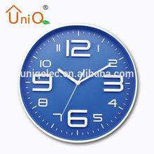 Blue digital led wall clock