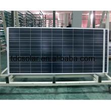poly 150w solar panel for solar pump