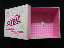 2014 hot sale and new style baby gift box
