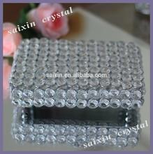 New ! beautiful crystal Jewelry box wedding favors