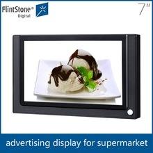 Flintstone 7'' motion activated lcd monitor, lcd advertising tv screens, small tv for advertising