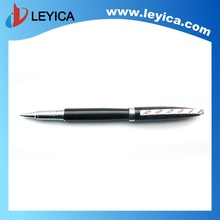 2014 Best sales Heavy Luxury business roller pen with diamond on clip LY-124R2