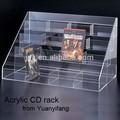 4 katmanlı özel şeffaf akrilik cd rafları satılık, akrilik cd standı