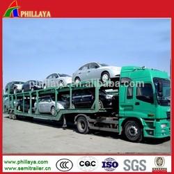heavy duty car/vehicle carrier semi-trailer 6-10 cars / 2 floors