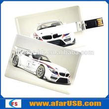 Credit card usb flash drive wholesale customize any usb pen drive