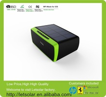 solar panel built in portable wireless mini bluetooth speaker/waterproof wireless bluetooth speaker/power bank bluetooth speaker