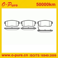 Shimmed Semi-metal Brake Pad recommend for MAZDA RX 8 SUZUKI IGNIS