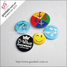 Wholesale Cheap fashion round metal button badge pin