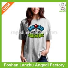 2014 popular women print t-shirt on china market