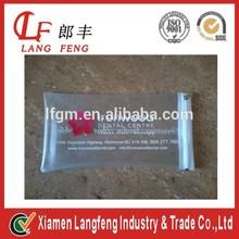 Transparent white pvc bag for telephone