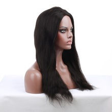 wholesale top quality silk straight perimeter thin skin full lace wigs with baby hair