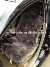 Short Hair Sheepskin Car Seat Cover Set race car sets adults