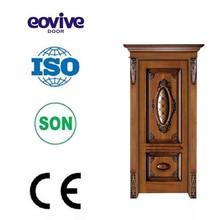 TOP quality solid wooden entry door design