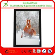 Aluminum Profile Super Slim A3 Clear Acrylic Wall Mount Photo Frame