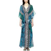 Indian type women plus dress summer printing dress Ethnic Clothing