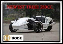 Newest EEC 250CC Reverse Trike