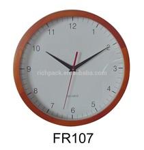 """10"""" Round Antique wooden craft wall clock"""