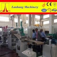 Three roll PVC sheet production line