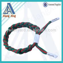 Bicolors braided shoelace bracelets bulk buy from china