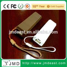 12000mAh Ultra thin Dual USB 5V; DC 9V 12V Output Portable Universal Power Bank for Tablet PC and Smartphones