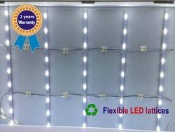 HOT!!! Super Easy installation Flexible LED Lattices for lightbox LED Module LED Curtain