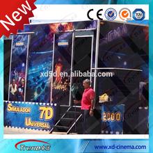 9 seats hydraulic 7D motion cinema 7D cinema