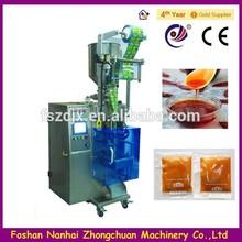 Factory Price Four Side Sealed Sachet Liquid Chili Oil 5-50ml Packing Machine