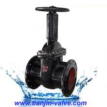 GOST cast iron gate valve pn10 gate valve picture