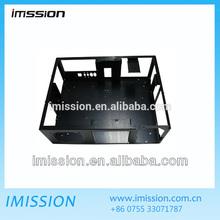 High precision black powder costing aluminum 6061 cnc sheet metal stamping computer case