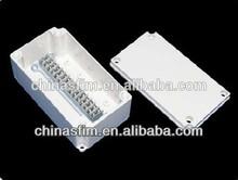 plastic enclosure/terminal block box/junction box distribution box connection box