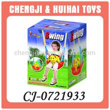 Plastic outdoor toy kids single swing