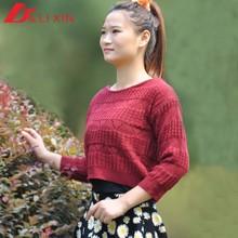 Moda whinter suéter modelo para las para mujer