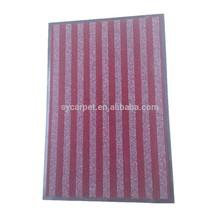 Best-selling PVC carpet or rug anti slip mat machine washable carpet rug