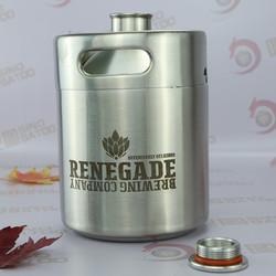 2L Mini barrel 2014 new design beer bottle storage rack
