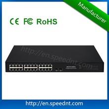 26 port 10 Gigabit Aggregation Switch 10g Unmanaged Switch