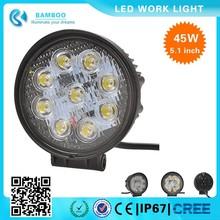45W LED Work Light 12v led light 45w led work light bar