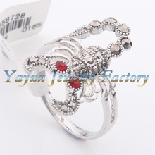 ODR0132 individual scorpio for Halloween fashion exotic rings Jewelry