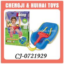Plastic outdoor toy baby swing
