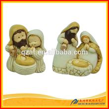 Popular Resin Set Holy Family Decoration