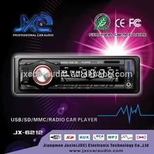 JXC-6212 new car radio sony style with usb sd fm am big lcd screen with bluetooth