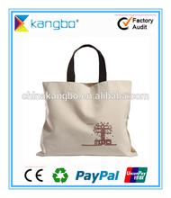 Reusable 2d 3d cartoon canvas satchel backpack bag canvas tote bag canvas packing bag customized