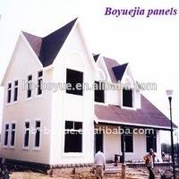 Cheap Sandwich Panel/Exterior wall metal insulation board/ Carved metal insulation board for prefab house/villa